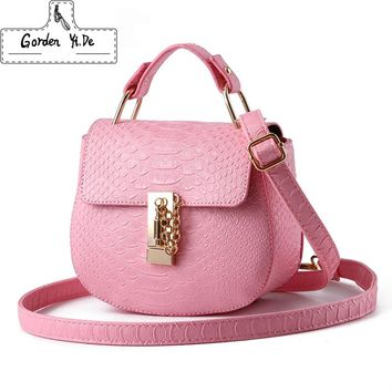 Gorden Yi De Fresh PU Little Pig Bags Women Crossbody Bags Fashion Teenage Girls Casual Bag New Sale Women Shoulder Bag Hasp