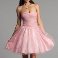 New Taylor-Pink Prom Dresses