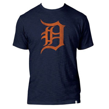 47 Brand Tigers D Logo Fall Scrum Road - Navy