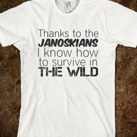 Janoskians Survival shirt