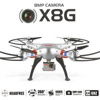 2.4Ghz 6-Axis Gyro 4.5CH RC Quadcopter Drone with 8.0MP HD Camera EU Plug Helicopter