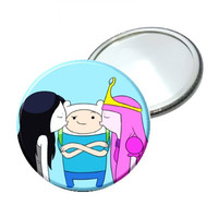 Mirror - Adventure Time Kissing Finn image 2.25""
