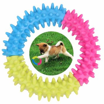 Ring TPR Rubber Bite Resistant Dog Toy