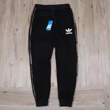 Adidas Original Women's Winter Sport Casual Mink cashmere Long Pants Sweatpants