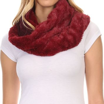 Sakkas Emilia Super Soft  Knit Infinity Scarf Reversible Casual and Effortless