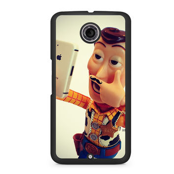 Toy Story Selfie Woody Mustache Nexus 6 case