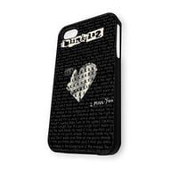 BLINK 182 Love Logo iPhone 4/4S Case