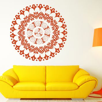 Vinyl Decal Wall Sticker Mandala Enso Circle Meditation Yoga Studio Art (n880)