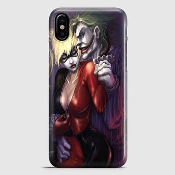 Harley Quinn 9 iPhone X Case