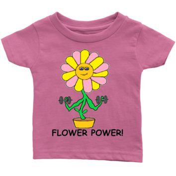 Infant Flower Power  T-Shirt