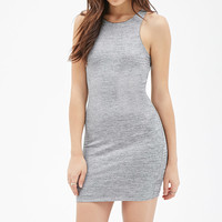 Metallic Knit Bodycon Dress