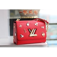 LV Louis Vuitton Women Fashion Shopping Leather Satchel Shoulder Bag Handbag Crossbody Discount Bags