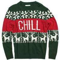 Altru Apparel Chill Vibes Intarsia Sweater