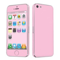 Apple iPhone 5 Full Body Vinyl Decal Protection Sticker Skin State Pink -By SkinGuardz