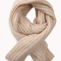 Fire Side Open-Knit Scarf