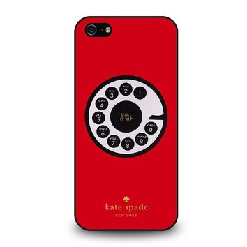 KATE SPADE ROTARY DIAL UP iPhone 5 / 5S / SE Case Cover