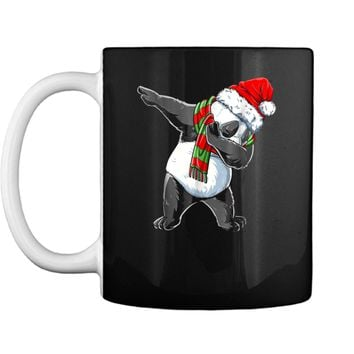 Dabbing Panda Santa Christmas Kids Boys Girls Gifts Mug