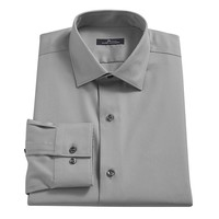 Marc Anthony Slim-Fit No-Iron Dress Shirt - Men, Size: