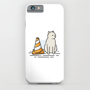 Street Cat / Wait (W8) iPhone & iPod Case by The October13