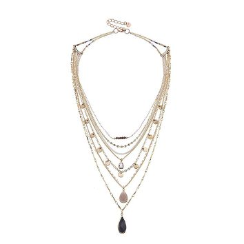 Gwynette Layer Necklace