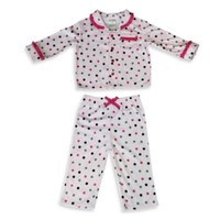 Absorba® 2-Piece Polka Dot Pajamas in Pink