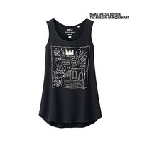 WOMEN SPRZ NY Tank Top(Jean Michel Basquiat)