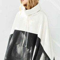 Shades Of Grey By Micah Cohen Poncho Sweatshirt