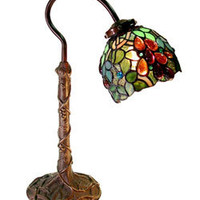 Tiffany-style Grape Desk Lamp | Overstock.com