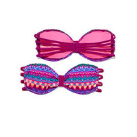 Caged Bandeau Top - PINK - Victoria's Secret