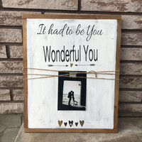 Wedding gift framed wood wedding sign wood frames shabby chic sign anniversary gift vintage sign gold decor gifts for couple unique gift