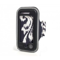 chicBuds Fashion Audio Chic Physique iPhone 5 Armband Black Ikat - Shop | Earphones, Headphones and Speakers