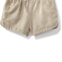Linen Blend Soft Shorts for Baby | Old Navy