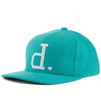 The Un Polo Snapback Hat in Heather Turquoise