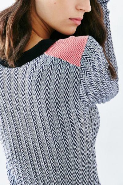 da69108e581 Glamorous Long Sleeve Collared Chevron from Urban Outfitters