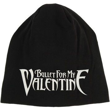 Bullet For My Valentine Men's Logo Beanie Black