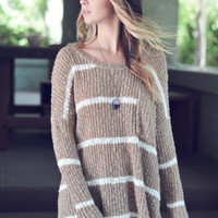 Lindsay Striped Sweater