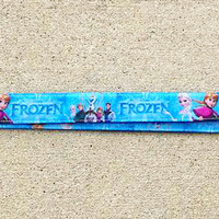 Disney Inspired Frozen Lanyard, Pin Trading Lanyard, ID holder, Accessories, Key Holder, Elsa, Anna, Olaf