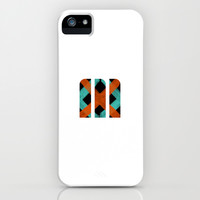 M Crisscross iPhone & iPod Case by Matt Irving