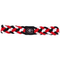 Georgia Bulldogs NCAA Braided Head Band 6 Braid