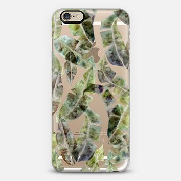 Banana Leaves by No Ocean iPhone 6 case by no-ocean | Casetify