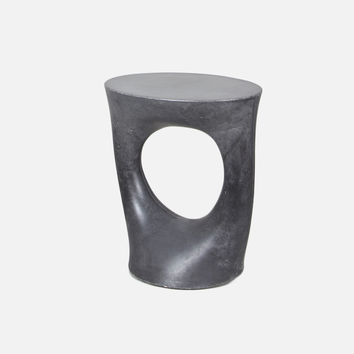 Kreten Side Table - Short / Charcoal
