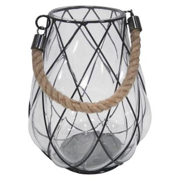 Blown Glass Lantern Medium - Threshold™ : Target