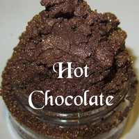 NEW Hot Chocolate Rich Chocolate Brown Mineral Eyeshadow Mica Pigment 5 Grams Lumikki Cosmetics