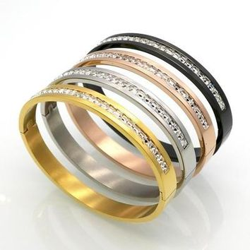 Costume Couples Stainless Steel Lover Bracelets & Bangles