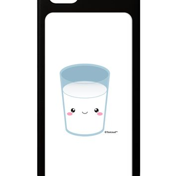 Cute Matching Milk and Cookie Design - Milk iPhone 5 / 5S Grip Case  by TooLoud