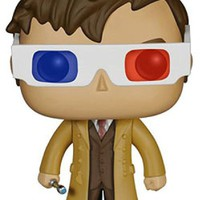 Funko POP TV: Doctor Who Tenth Doctor 3D Glasses Exclusive Figure