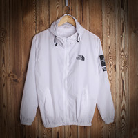 Sports Windbreaker Simple Design Jacket Casual Couple Rashguard [9231075911]