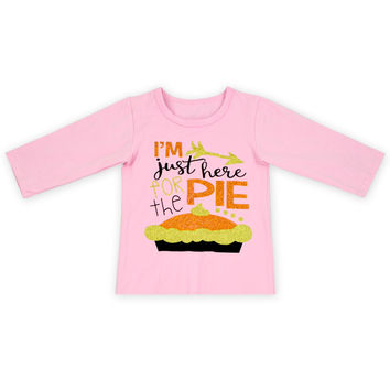 three quarter free shipping baby girls tops shirts clothes o-neck girls casual tops 12 color in stock Autumn fall top t shirt