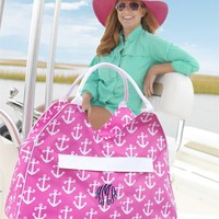 Monogrammed Oversized Beach Bags-3 Colors!