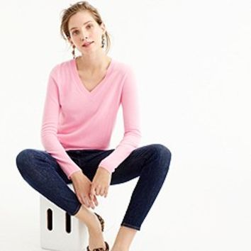 Classic V-Neck Tipped Cardigan Sweater : Women's Sweaters | J.Crew